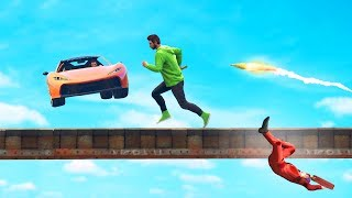 TRY NOT TO RAGE GTA CHALLENGE! (GTA 5 Funny Moments)