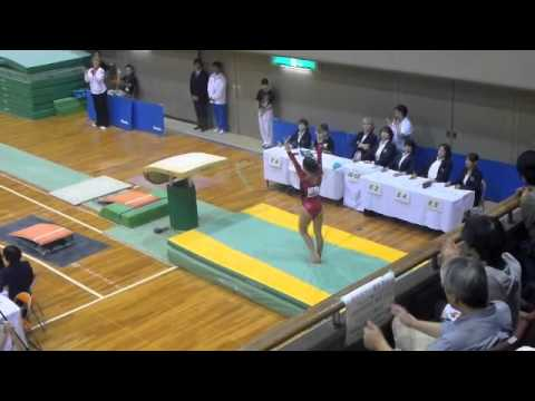 Japan Jr International VAULT Final 2011 - Lexie Priessman 1st, Amelia Hundley 2nd