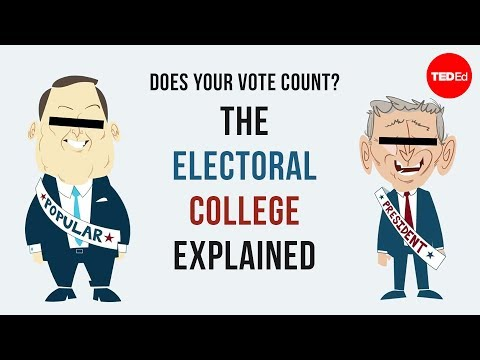 Does your vote count? The Electoral College explained - Christina Greer