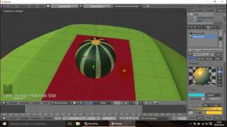 Tutorial Blender - Criar Cena, Materiais e Animar com Editor de Gráfico