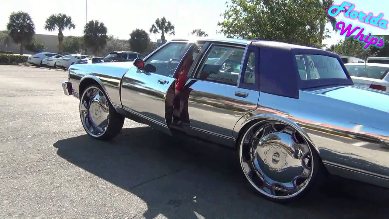 Chrome Box Chevy On 28 S Florida Whips 1080p Hd Youtube