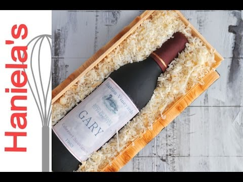 How To Make A Wine Crate Cake
