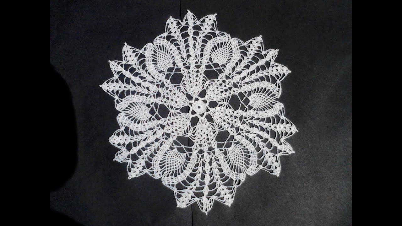 Patrones de Carpetas de Crochet 3 de 3 Carpeta Grande Crochet