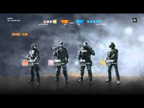 Rainbow Six Siege With Tomahawk
