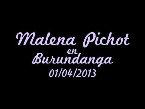 Malena Pichot Conduciendo Radio - Lunes 1 De Abril 2013 video