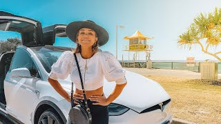 How far can you REALLY go in a TESLA Model X? - attempting Sydney to Byron Bay
