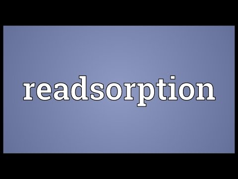 Header of Readsorption