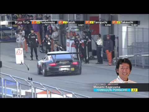 JAF GP FUJI SPRINT CUP 2012 GT300 RACE2