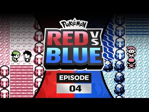 Pokemon Red and Blue Versus - EP 04   THAT WAS A BURP!