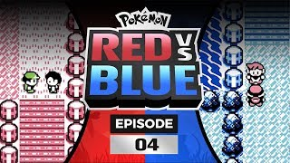 Pokemon Red and Blue Versus - EP 04 | THAT WAS A BURP!