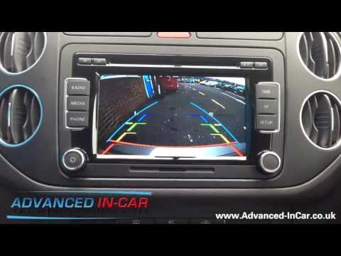 Volkswagen RCD 510 DAB with Retrofitted Reversing Camera
