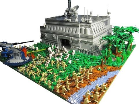 Lego Star Wars Alderaan ▶ Lego Star Wars The Clone
