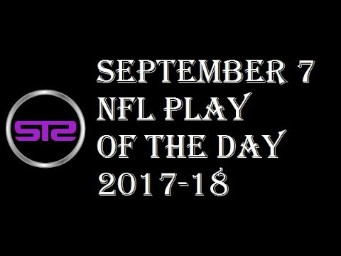 Week 1 - September 7, 2017 - NFL Pick of The Day - Today NFL Picks ATS Tonight - 9/7/17