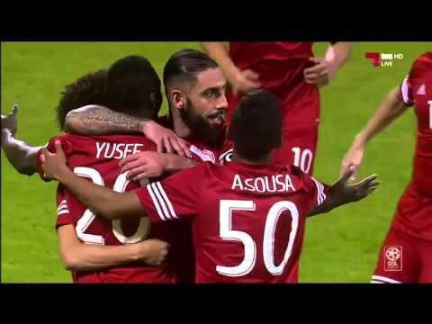 AlArabi Goals in AlGarrafa 3-2 اهداف العربي في الغرافه