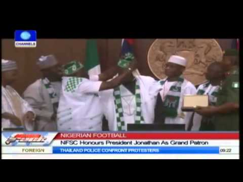 Football: Supporters' Club Honours President Jonathan As Grand Patron