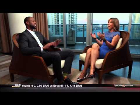 April 18 2014 - ESPN - Miami Heats Dwyane Wade Interview (NBA Face to Face with Hannah Storm)