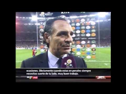 Cesare Prandelli post-game comments