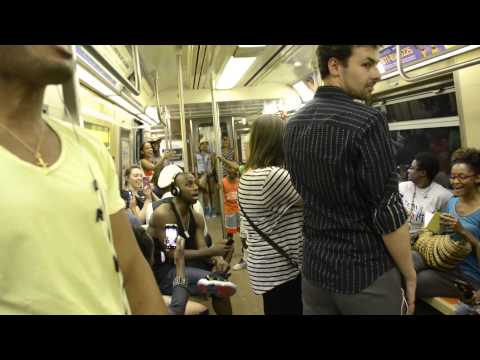 THE LION KING Broadway Cast Takes Over NYC Subway and Sings 'Circle Of Life'