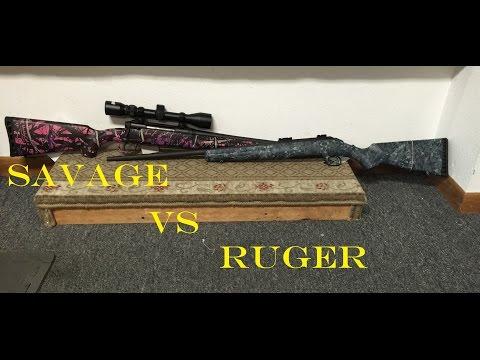 Savage Axis Rifle 300 Yard Sub Moa 2 Inch Group How