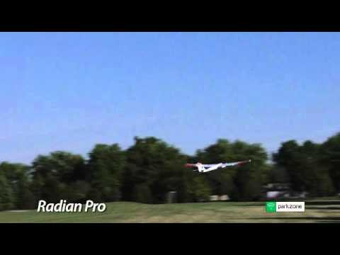 Park Zone Radian Pro Electric Rc Glider with Flaps