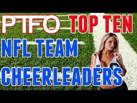 Hottest NFL Cheerleader Teams