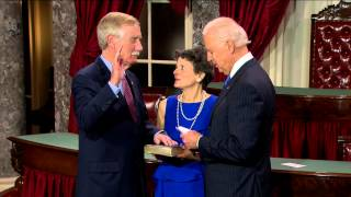 Swearing in of Senator Angus King (I-Me.)