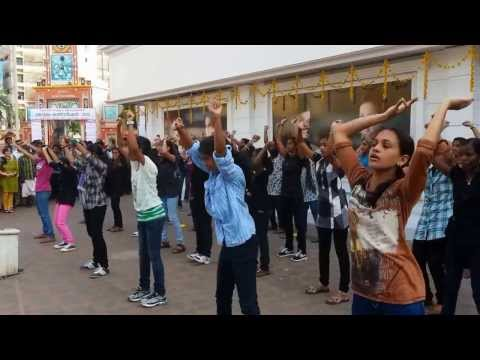 Cms College flash Mob celebrates 100 Years Of Women video