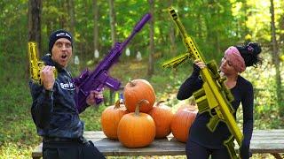 How We Carve Pumpkins!! Fortnite Style