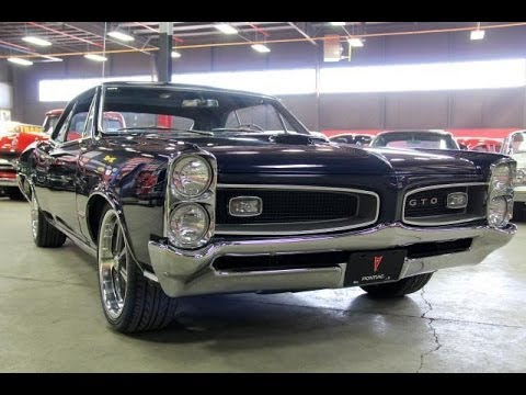 1966 Pontiac Gto Test Drive Classic Muscle Car For Sale In Mi Vanguard Motor Sales Youtube