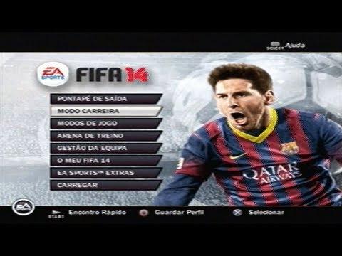 FIFA 14 PS2 Gameplay Primeiras Impressões
