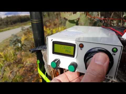 VK3HN: QRP homebrew 40 meter SSB portable at Mt Strickland VK3/VN-030