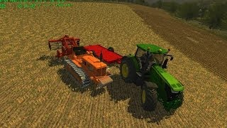 Farming Simulator 2013 Subsoiling With Fiat 70c Track