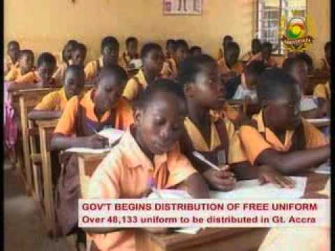MiddayLive   Over 48,133 uniforms to be distributed in Gt. Accra  - 26/10/2015