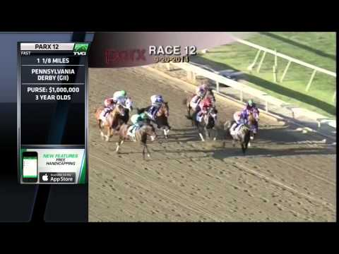 Bayern sets track record vs. California Chrome in Pennsylvania  Derby