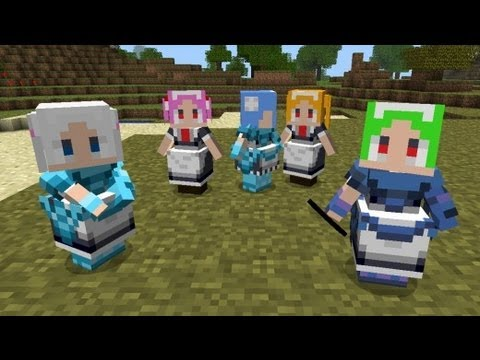 Minecraft: How To Install Little Maid Mod 1.4.6