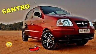 Top 10: BEST Modified Hyundai Santro ! ! !