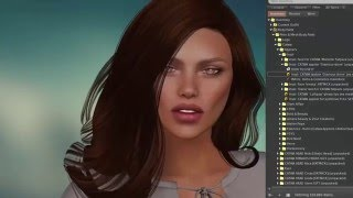 Catwa Nicki Static Female Mesh Head in Second Life for L$100