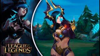 NOVA EVELYNN ESTÁ OP - League of Legends