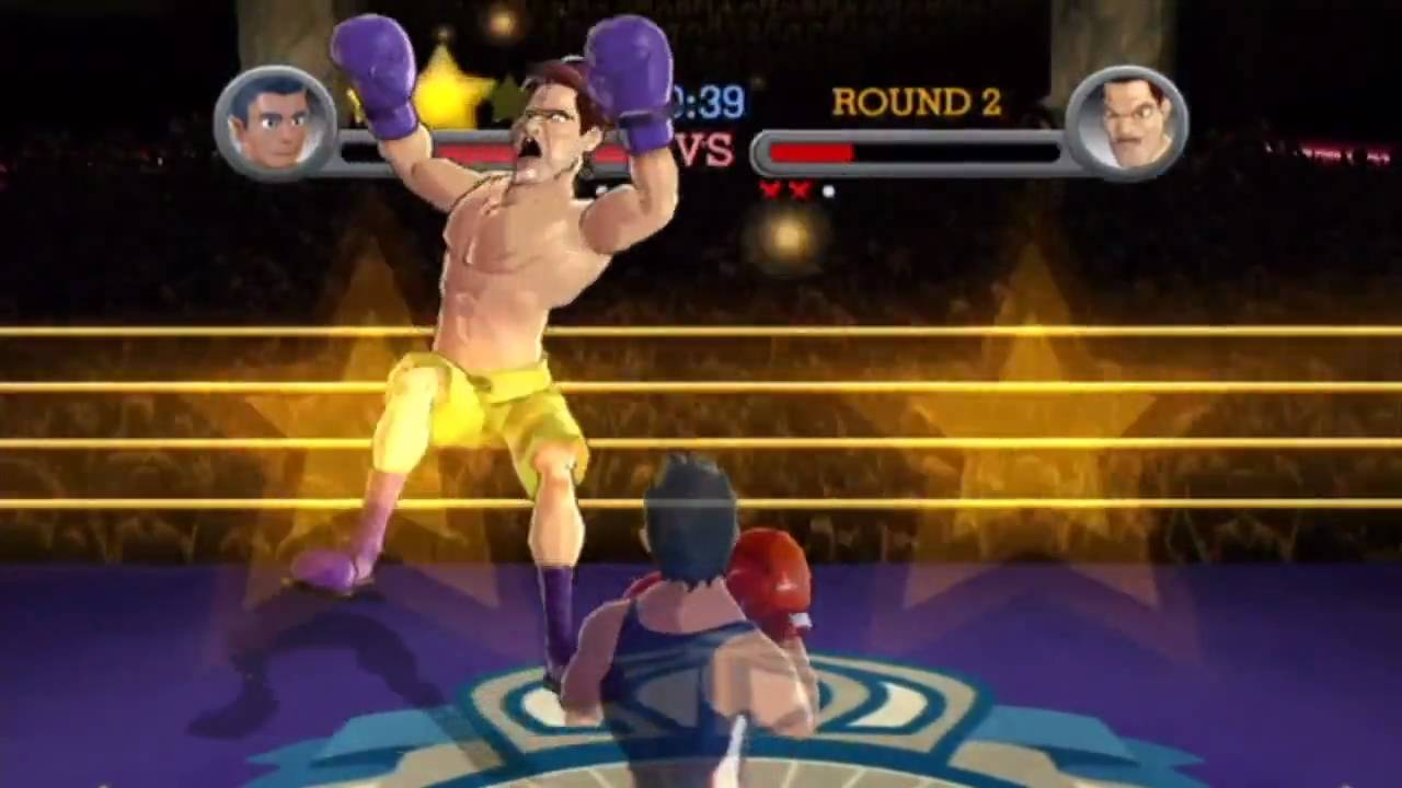 Punch Out Wii Soda Popinski : Punch out wii little mac vs aran ryan soda popinski
