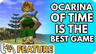 Why The Legend Of Zelda: Ocarina Of Time Is The Best Damn Game Ever