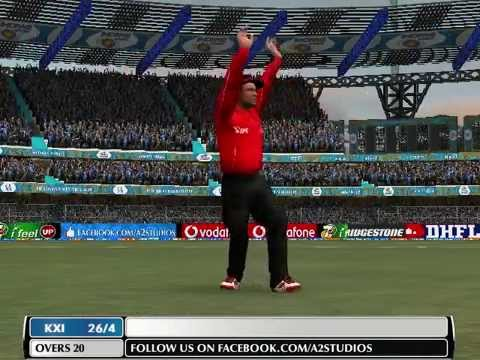 IPL 2014: Mumbai Indians VS Kings XI Punjab Highlights CSK vs KKR 03/05/2014 {ea sports cricket 07}