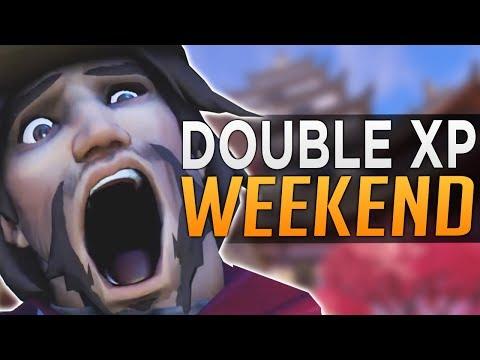 Overwatch: DOUBLE XP WEEKEND COMING!