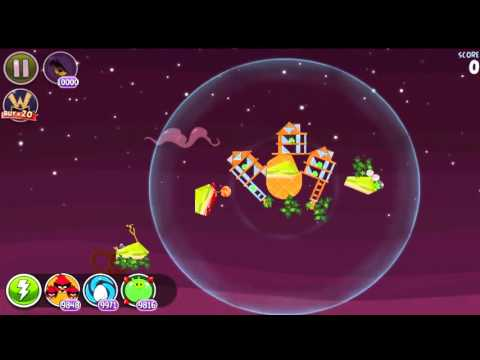 Angry Birds Space HD Utopia All levels