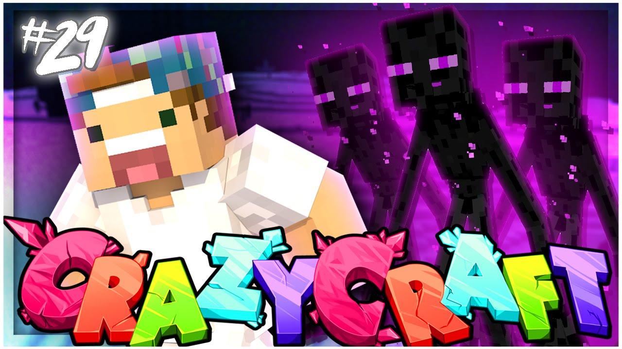 A MUTANT ENDERMAN?! | EP 29 | Crazy Craft 3.0 (Minecraft Youtuber Server)