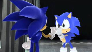 Sonic Generations - Part 5 (1st Rival and Genesis Era Boss)