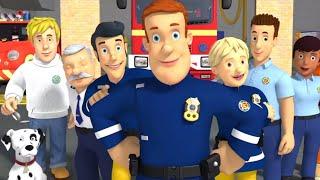 Brandweerman Sam ⭐️Ontmoet brandweerman sam - Nieuwe Afleveringen 🚒Kinderfilms