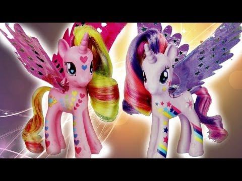 Princess Cadance & Twilight Sparkle - Księżniczki ze Skrzydełkami - Rainbow Power - MLP