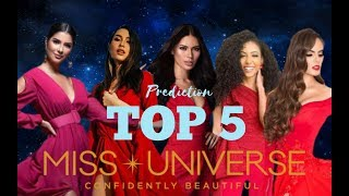 MISS UNIVERSE 2019 TOP 5 STRONGEST CONTENDERS (Juli Edition)
