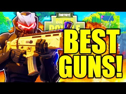TOP 10 BEST WEAPONS IN FORTNITE TIPS AND TRICKS! HOW TO GET BETTER AT FORTNITE BEST GUNS!