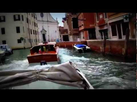 Venice water taxi to hotel part 1